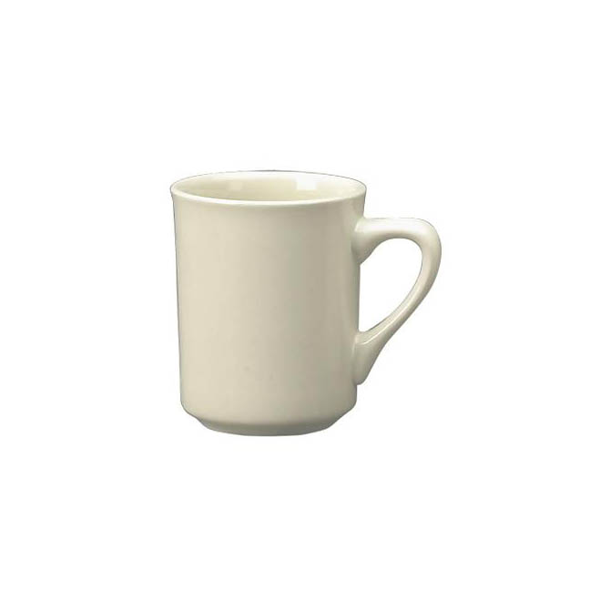 Iti 8 5 Oz American White Coffee Mug
