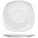 ITI Quad 5-3/4\x22 European White Saucer