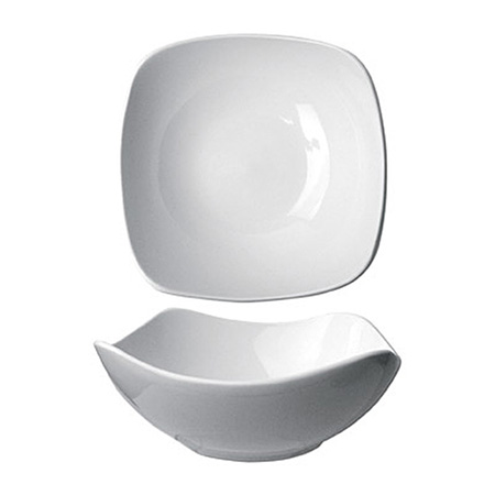 ITI Quad 10 oz. European White Fruit Bowl