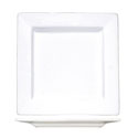 ITI Elite 9-1/8\x22 Bright White Square Plate