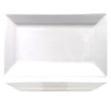 ITI Elite 8\x22 x 5-5/8\x22 Bright White Rectangle Platter
