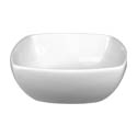 ITI Quad 6 oz. European White Fruit Dish
