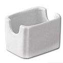 ITI Bright White Ceramic Sugar Packet Caddy