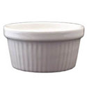 ITI 2.75 oz. White Fluted Ramekin