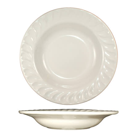 ITI Hampton 9 oz. American White Deep Rim Soup Bowl