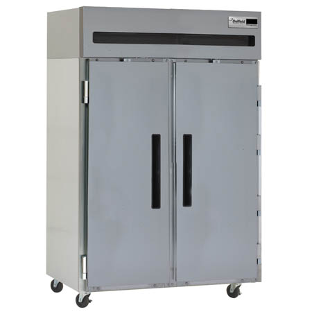 "Delfield 43.5 cu. ft. 2-Door Top Mount Reach-In Freezer 51""W"