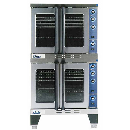 "Duke Full Size Double Deck Natural Gas Convection Oven 38""W"