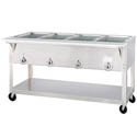 Duke 4-Well Portable 208V Electric Hot Food Table 58-3/8\x22W