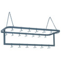 Duke 64\x22 Ceiling Suspension Rack with 8\' Chains and 24 Hooks