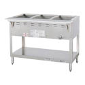 Duke 3-Well Natural Gas Water Bath Hot Food Table 44-3/8\x22W