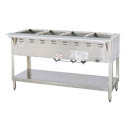 Duke 4-Well Natural Gas Wet Bath Hot Food Table 58-3/8\x22W