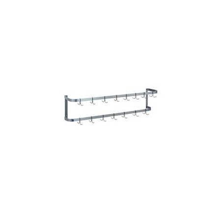 Duke 4' Wall Mount Rack with 12 Hooks