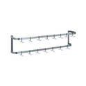 Duke 3' Wall Mount Rack with 9 Hooks