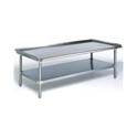 Duke Stainless Steel Equipment Stand with 1\x22 Risers 36\x22W x 30\x22D x 24\x22H