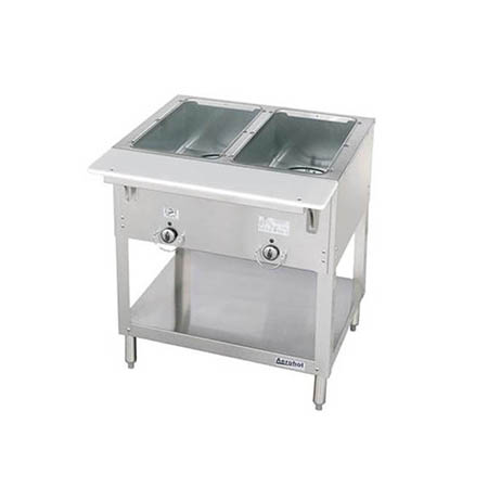 "Duke 2-Well 115V Electric Hot Food Table 30-3/8""W"
