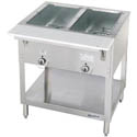 "Duke 2-Well 115V Electric Hot Food Table 30-3/8""L"