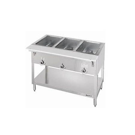 "Duke 3-Well 115V Electric Hot Food Table 44-3/8""L"
