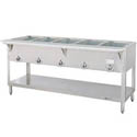 Duke 5-Well Natural Gas Hot Food Table 72-3/8\x22W