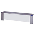 Full Service Buffet Shelf for Duke 2-Well Hot Food Table