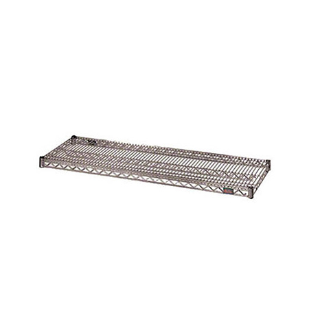 "Eagle Heavy Duty Gray Epoxy-Coated Wire Shelving Section 24"" x 30"""