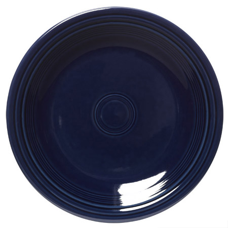 "Homer Laughlin Fiesta 10-1/2"" Cobalt Blue Plate"
