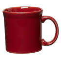 Homer Laughlin Fiesta 12 oz. Scarlet Red Coffee Mug