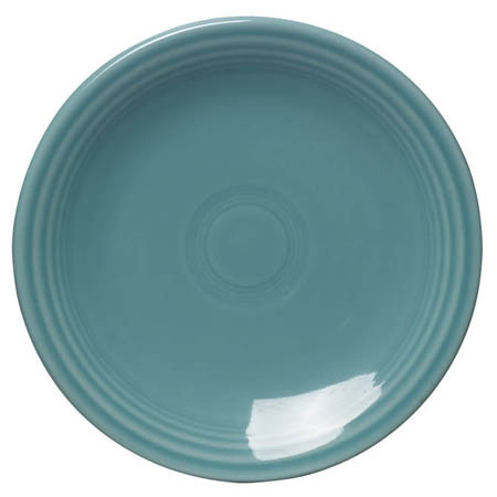 "Fiesta by Homer Laughlin 6-1/8"" Turquoise Plate"