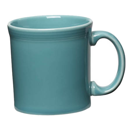 Homer Laughlin Fiesta 12 oz. Turquoise Coffee Mug