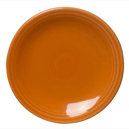 "Homer Laughlin Fiesta 6-1/8"" Tangerine Orange Plate"