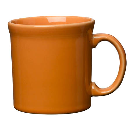 Homer Laughlin Fiesta 12 oz. Tangerine Orange Coffee Mug