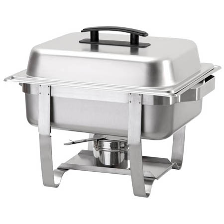Update 4-Quart Half Size Stainless Steel Chafer