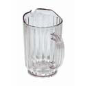 Update 32 oz. Clear Poly Beverage Pitcher