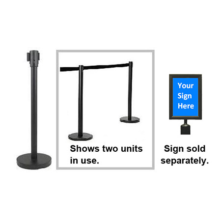Add-On Sign for Crowd Control Guidance System