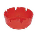 "Gessner Red Ashtray 4"" Diameter"