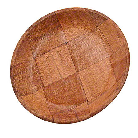 "Update International 9"" Wood Plate"