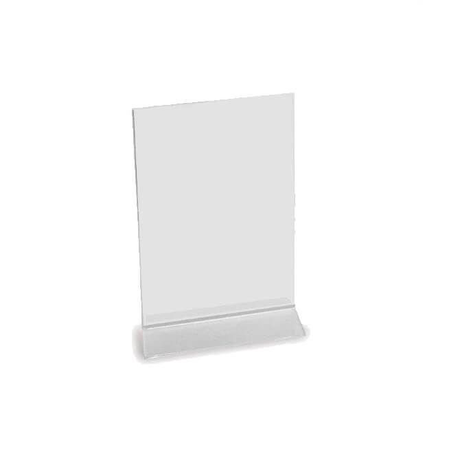 CoRect Acrylic Table Tent W X H - Acrylic table tents