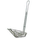 8-1/4\x22 Fryer Basket for Sloped Taco Salad Bowl
