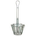 8-1/8\x22 Fryer Basket for Traditional Taco Salad Bowl