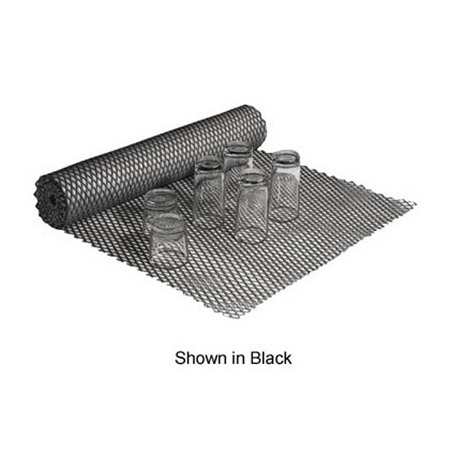 "Black Bar Shelf Liner 24""W"