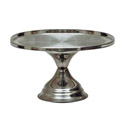 Stainless Steel Cake Stand 12-1/4\x22 Diameter