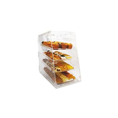 4-Tray Clear Acrylic Display Case