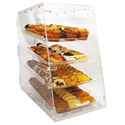 4-Tray Clear Acrylic Display Case 24\x22H x 14\x22W x 24\x22D