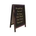 Double-Sided Write-On Sidewalk Board 19-1/2\x22 x 33-1/2\x22
