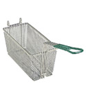 "Front Hook Fry Basket with Insulated Handle 12-7/8""D x 6-1/2""W x 5-1/4""H"