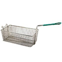 "Front Hook Fry Basket with Insulated Handle 17""D x 8""W x 6""H"