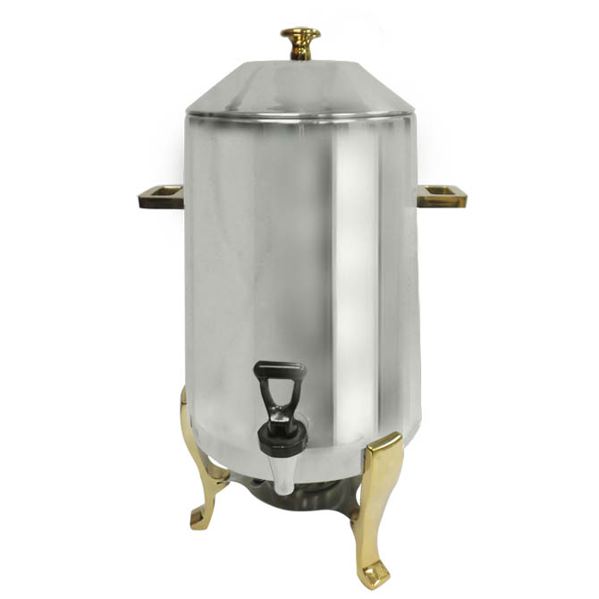 Update 3-Gallon Stainless Steel Coffee Urn With Fuel Holder