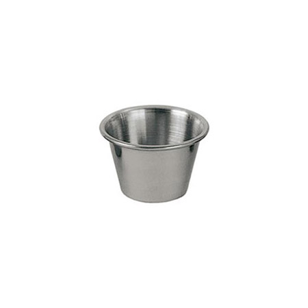 2.5 oz. Stainless Steel Sauce Cup