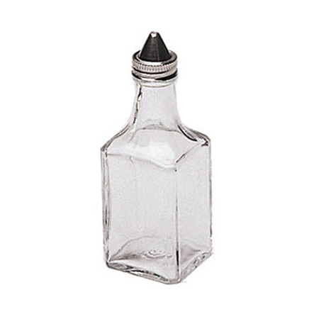 Update 6 oz. Square Glass Cruet
