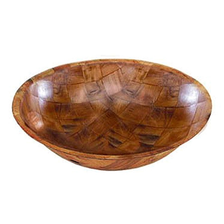 "Update International 6"" Wood Bowl"