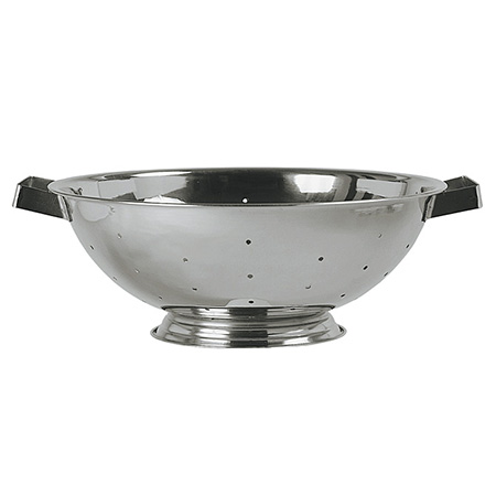 8-Quart Stainless Steel Footed Colander